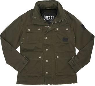 Diesel Cotton Gabardine Jacket
