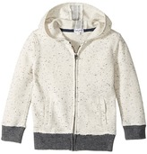 Splendid Littles Speckle Baby French Terry Hoodie Jacket Boy's Coat