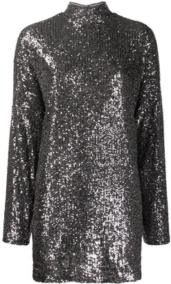 In The Mood For Love Marceau open-back sequin dress