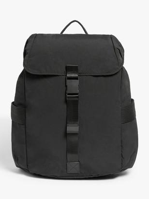 KIN Clip Nylon Backpack, Black