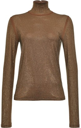 Pinko Studded Turtleneck Jumper