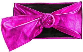 ATTICO metallic waist belt