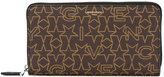 Givenchy logo print wallet - men - Cotton/Polyester/Polyurethane - One Size