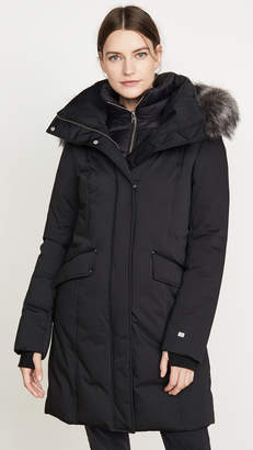 Soia & Kyo Emele Jacket with Faux Fur Trim