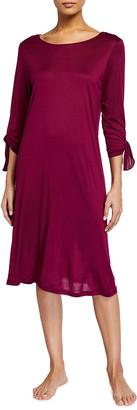 Hanro Aba 3/4-Sleeve Nightgown