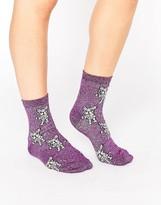Asos Halloween Mummy French Bulldog Ankle Socks