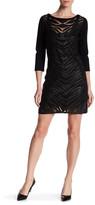 Grayse Tigris Genuine Leather Slip Dress