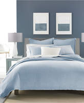 Hotel Collection Cornflower Linen Full/Queen Duvet Cover, Created for Macy's