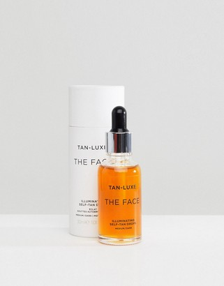 Tan-Luxe Tan Luxe The Face Illuminating Self-Tan Drops Medium/Dark 30ml
