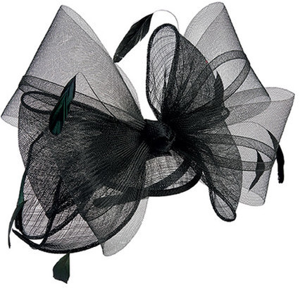 San Diego Hat Company Women's Bow Sinamay Fascinator DRS3555