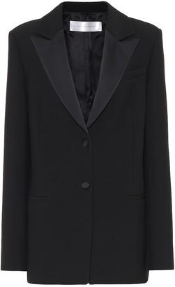 Victoria Victoria Beckham Satin-trimmed blazer