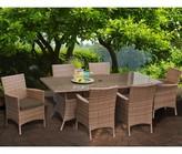 tk.TAKEO KIKUCHI Classics Laguna Patio Dining Chair with Cushion Classics Color: Cocoa