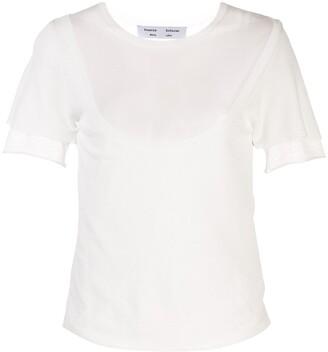 Proenza Schouler White Label cut-out T-shirt