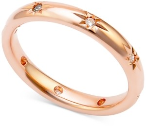 Marchesa Diamond Band (1/8 ct. t.w.) in 18k Rose Gold