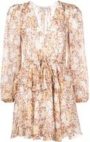 Shona Joy Florence drawstring mini dress