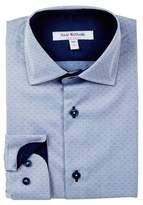 Isaac Mizrahi Long Sleeve Dress Shirt (Toddler, Little Boys, & Big Boys)