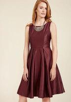 Wishing and Wowing Midi Dress in Wine in XXL