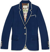 Gucci Silk-wool jacket