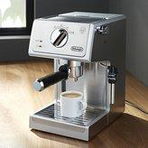 Crate & Barrel DeLonghi ® Stainless Steel Pump Espresso Maker