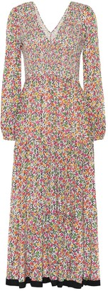Rixo Brooke floral maxi dress