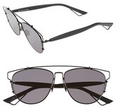 Christian Dior Women's 'Technos' 57Mm Sunglasses - Black
