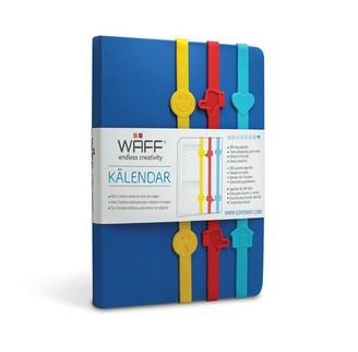WAFF Kalendar - Royal Blue