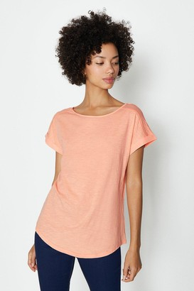 Coast Cotton Slub Plain T-Shirt