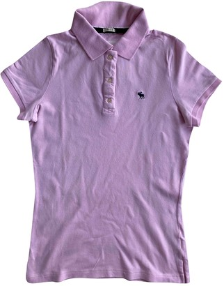 Abercrombie & Fitch Pink Cotton Top for Women