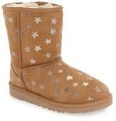 Girl's Ugg Classic Stars Boot