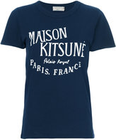 MAISON KITSUNÉ Palais Royal T-shirt - women - Cotton - S