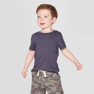 Cat & Jack Toddler Boys' Short Sleeve Solid T-Shirt - Cat & JackTM