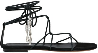 Isabel Marant Jindia Ankle Strap Sandals