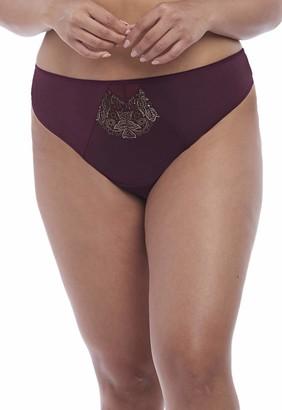 Elomi Women's Plus Size Eugenie Mid-Rise Thong