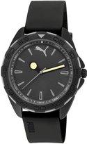 Puma Men's PU103421005 Silicone Analog Quartz Watch with Dial