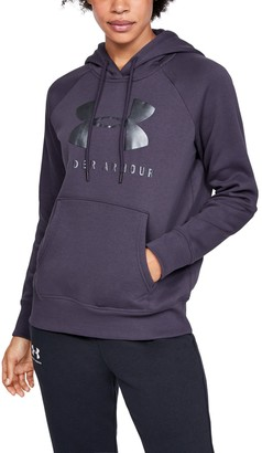 Under Armour Women's UA Rival Fleece Sportstyle Graphic Hoodie