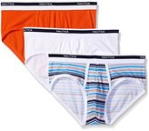 Nautica Men's 3-Pack Cotton Stretch Brief