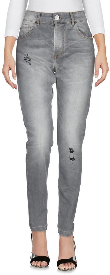 Entre Amis Denim pants - Item 42690027NE