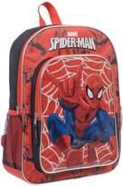 Marvel Boys' Spiderman 16 Inch Full Size School Backpack