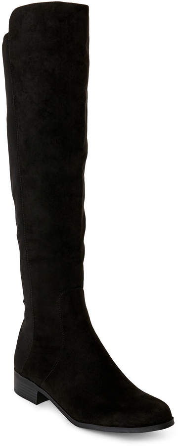 Unisa Black Unhudy Over-the-Knee Boots