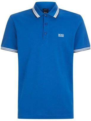 BOSS Pique Cotton Polo Shirt