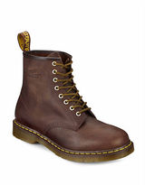 Dr. Martens Distressed Leather Combat Boots