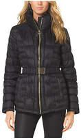 Michael Kors Belted Puffer Jacket
