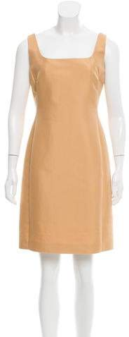 Agnona Sleeveless Shift Dress
