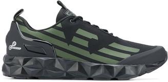 EA7 Emporio Armani Logo-Print Chunky Sneakers