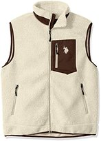 U.S. Polo Assn. Men's Full Zip Sherpa Vest