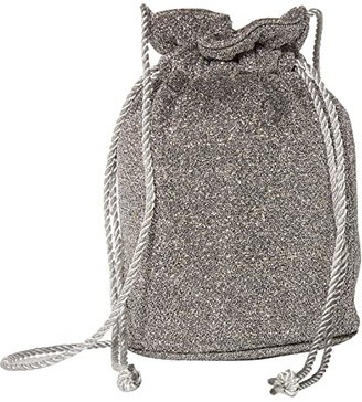 Hat Attack Party Pouch (Silver Sparkle) Handbags