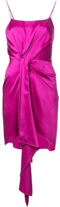 Fleur Du Mal Holiday Cascade Dress