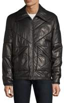 Bally Padded Leather Puffer Jacket