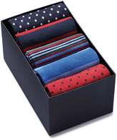 Charles Tyrwhitt Red White and Blue Sock Gift Box Size Large