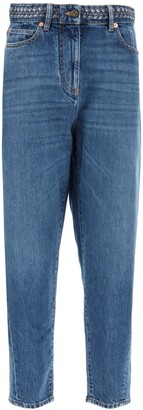 Valentino High Waisted Jeans
